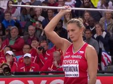 Barbora Špotáková, photo: YouTube