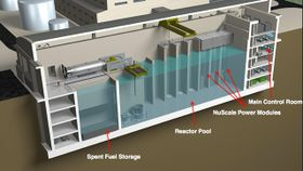 NuScale's small modular reactor, photo: NuScale Power