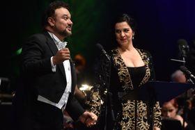 Рамон Варгас и Анджела Георгиу (Фото: ЧТК)