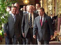 Kwasniewski, Madl und Havel, Foto:CTK