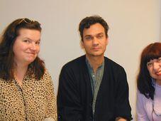 Iva Pekarkova, Michael Hofmann and Katerina Anghelaki-Rooke