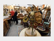 Antique market, photo: CTK