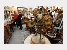 Antique market, photo: CTK