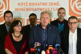 Sozialdemokraten (Foto: ČTK)