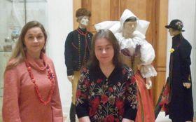 Zleva: Monika Tauberová aZlata Potyková, foto: Zdeňka Kuchyňová