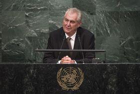 Милош Земан, Фoto: United Nations Photo, Creative Commons Atribution-NonCommecial-NoDerivs 2.0 Generic