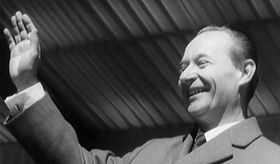 Alexander Dubček, photo: Czech Television
