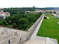 Вид на парк Фолиманка и Вышеград, Фото: Екатерина Сташевская, Чешское радио - Радио Прага