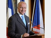 Laurent Fabius, photo: ČTK