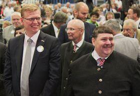 Pavel Bělobrádek und Bernd Posselt (Foto: ČTK)