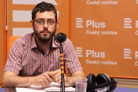 Jiří Koželouh, photo: Jana Přinosilová, ČRo