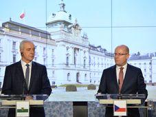 Stanislaw Tillich und Bohuslav Sobotka (Foto: ČTK)