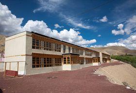 School building, photo: archive of Brontosauři v Himalájích
