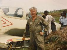 Karel Fencl v Ghaně, foto: osobní archiv Karla Fencla