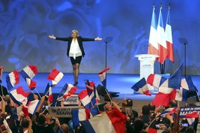 Marine Le Pen, photo: ČTK