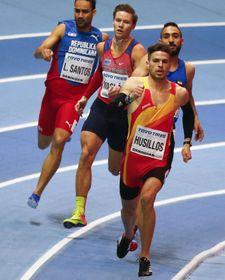 Luguelin Santos, Pavel Maslák et Oscar Husillos, photo: ČTK