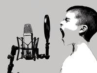 Stimme - hlas (Foto: Yingnan Lu, Pixabay / CC0)