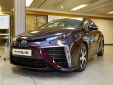 Toyota Mirai a Hidrógeno, foto: archivo de World Hydrogen Technology Convention