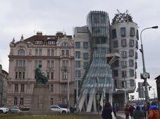 Танцующий дом и Площадь Ирасека, фото: Екатерина Сташевская