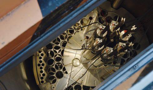 Un réacteur expérimental à l'Institut de recherche nucléaire de Řež, photo: Ondřej Tomšů