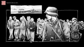 'Attentat 1942', photo: archive of Charles University