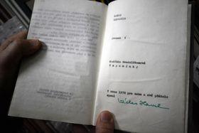 Воспоминания Надежды Мандельштам, которые в 1978 г. «для себя и своих друзей переписал Вацлав Гавел», Фото: Эва Туречкова