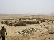 Abou Sir, photo: Archives de l'Institut d'égyptologie tchèque