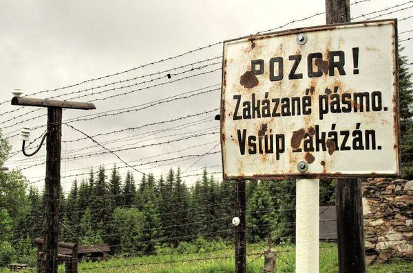 «Железный занавес», Фото: Ян Розенауэр, Чешское радио