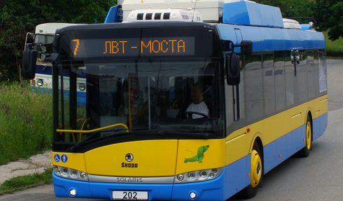 Троллейбус Škoda 26Tr,