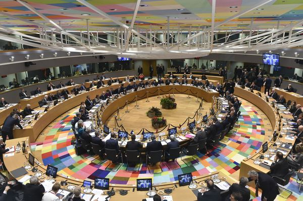 EU leaders and their partners from the East meet for an Eastern Partnership Summit in Brussels, November 24, 2017, photo: CTK