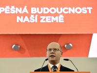 Bohuslav Sobotka au congrès du parti social-démocrate (ČSSD), photo: ČTK