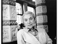 Lenka Reinerová, photo: Miro Švolík