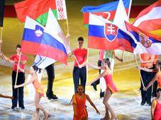 La ouverture des championnats d'Europe de patinage artistique à Ostrava, photo: ČTK