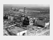 Чернобыльская АЭС после взрыва, 1986г., Фото: ЧТК
