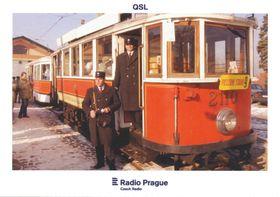 Straßenbahn T2110 , Foto: Stanislav Peška, ČTK