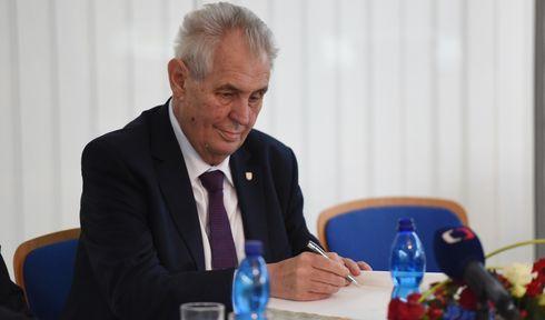 Miloš Zeman, photo: ČTK