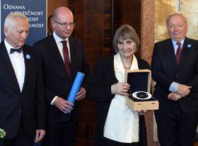 Dana Němcová wurde mit dem Preis ausgezeichnet (Foto: ČTK)