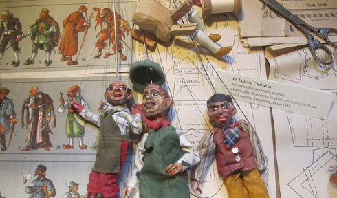 Marionettenmuseum in Prag-Letná (Foto: Martina Schneibergová)