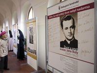 Exhibition dedicated to priest Jan Bula, photo: CTK