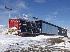 Estación Johann Gregor Mendel, foto: National Geographic