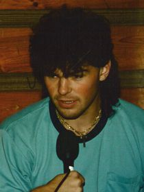 Jaromír Jágr with his famous 1990s mullet, photo: archive of Czech Radio