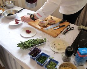 Ochutnávka renesanční kuchyně, foto: Martina Schneibergová