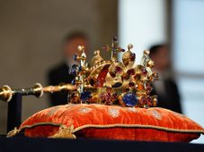 Czech crown jewels, photo: CTK