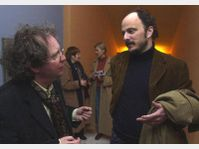 Michael March and Jeffrey Eugenides, photo: CTK