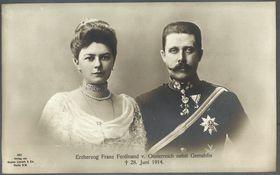 София Хотек и эрцгерцог Франц Фердинанд, фото: открытый источник