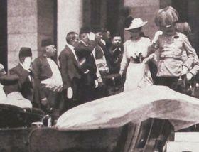 Франц Фердинанд с супругой в Сараево