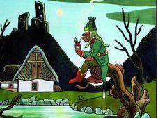 Один из рисунков Йозефа Лады: Архив Galerie Moderna