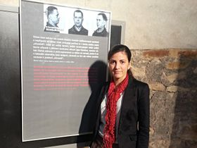 Rosa María Payá en la República Checa, foto: Martina Mašková, ČRo