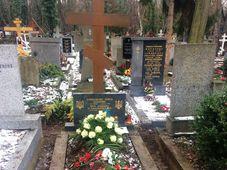 Бывшая могила Александра Олеся на Ольшанском кладбище в Праге, Фото: Любомир Сматана, Чешское радио