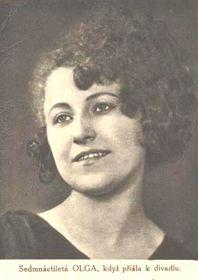 Olga Scheinpflugová, photo: public domain